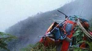 Helicopter crash kills at least three in Thailand