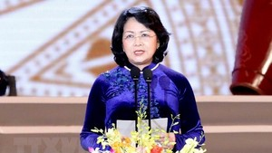 Acting President Dang Thi Ngoc Thinh (Source: VNA)