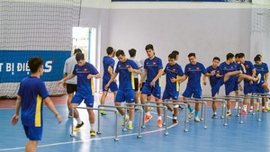 National Futsal team tour to Thailand for training courses