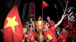 我國球迷期待著國家選手隊贏得金盃。