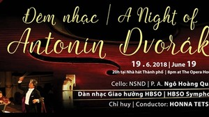 Concert on Czech composer Antonin Dvorak held in HCMC