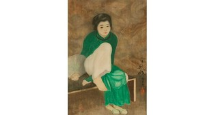 Vietnamese painting to be sold at auction in Paris