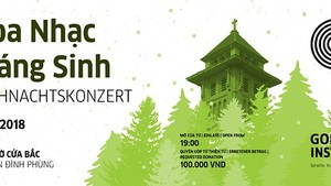Hanoi's Goethe-Institute presents annual charity Christmas concert