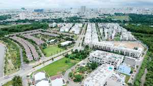 A new residential quarter in Binh Chanh District (Photo: SGGP)