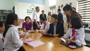 Additional three Korea-funded libraries opened in Nam Dinh