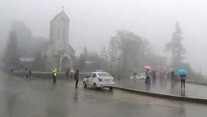 Central region suffers downpours