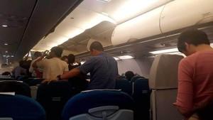 人贓並獲外籍乘客機上偷竊。(示意圖源:互聯網)