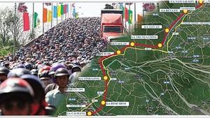 本市-芹苴高鐵線有助減輕本市與西區各省之間的交通壓力。