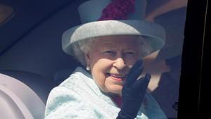 溫莎城堡的伊麗莎白二世女王。(圖源:路透社)