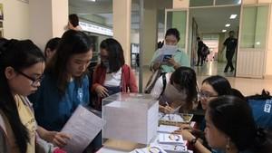 中文人才招聘活動每年均吸引廣大學 生參加。