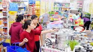 消費者在本市某超市購物。