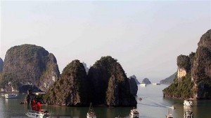 UNESCO-recognised Ha Long Bay in Quang Ninh province (Photo: VNA)