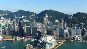 A view of Hong Kong. Banking officials of HSBC have encouraged more trade between Vietnam and Hong Kong. (Photo: instyle-hk.com)