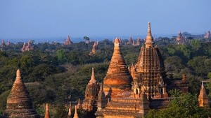 A tourist destination in Myanmar (Photo: AFP)