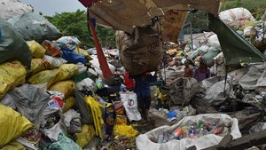 A landfill in Manila (Photo: AFP/VNA)