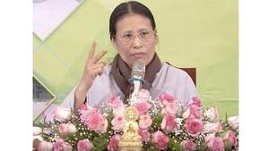 Buddhist Pham Thi Yen