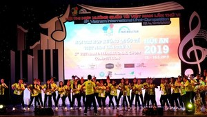 The Vocalista Angels Yason Christy Pranowo choir from Indonesia won the top prize at the sixth Vietnam International Choir Competition (Source: dantri.com.vn)