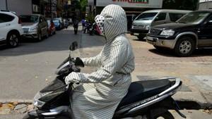 Hot air hits the central region. (Photo:SGGP)