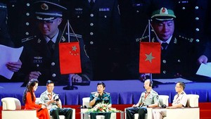 Seminar on the border defence friendship between Vietnam and China (Photo: VNA)