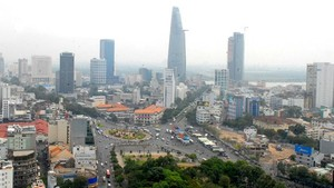 A corner of HCMC (Photo: SGGP)