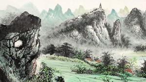山水畫。(圖源:互聯網)