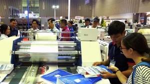 據越南包裝協會的數據:我國包裝工業每年的增長率從15%至20%。(示意圖源:互聯網)