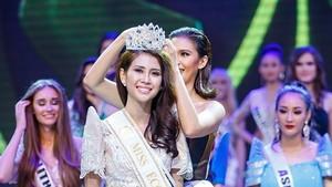 蓮芳榮獲 2017 年世界旅遊大使小姐亞軍。