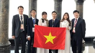Thí sinh Việt Nam đạt điểm cao nhất Olympic Sinh học quốc tế 2018