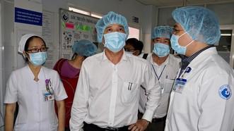 Sở Y tế TPHCM kiểm tra công tác phòng chống dịch cúm A/H1N1 tại BV Từ Dũ