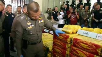 """Thái Lan """"cất lưới"""" 2 mẻ ma túy đá khủng 71 triệu USD"""