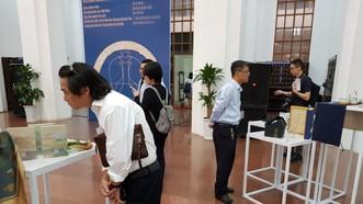 """""""中國南京市文化產品""""展覽一瞥。(圖源:VOV)"""