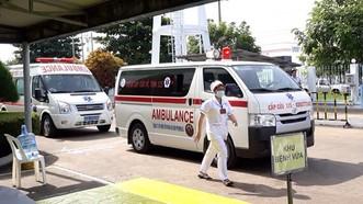 本市115急救呼叫中心的救護車隊隨時作好準備,隨傳隨到為市民服務。