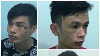 被抓獲的3名劫匪。