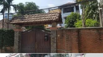 上下圖分別為兩名峴港市原人委會主席陳文明和文友戰的私宅。(圖源:黎飛 - 晉越)