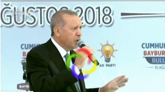 土耳其總統埃爾多安表示,土耳其和美國關係緊張,兩國合作關係可能處於險境,並警告美國,安卡拉可能開始尋找新盟友。(圖源:CCTV視頻截圖)