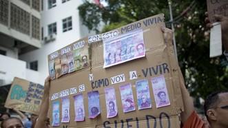 委內瑞拉貨幣貶值96%。(圖源:AP)