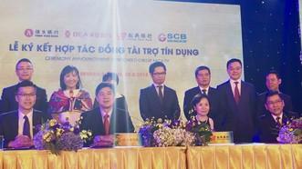 越南與香港的銀行業者簽署合作協議。