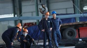 勞動與榮軍社會部建議,每人每月的職業技能培訓和水平提高經費輔助額最多為150萬元。(圖源:海元)