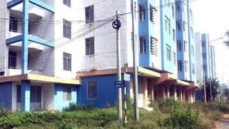 永祿B各棟空置公寓日漸荒廢殘舊。