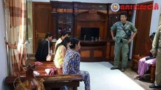 柬埔寨金邊警方10日向媒體表示,當地一個非法代孕集團告破,警方逮捕了15名男女,包括11名代理孕婦。(圖源:互聯網)