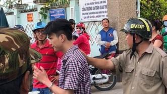 被抓獲的嫌犯劉文慶。(圖源:福源)