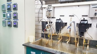 Sawaco的水質檢驗室獲公認達標。