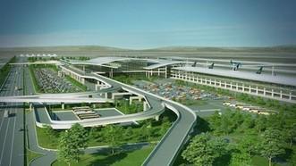 雲屯國際航空港效果圖。(圖源:互聯網)