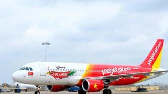 本月19日晚上,國內VJ198航班在飛往河內航程中,因機長收到技術警報而折返急降新山一機場。(示意圖源:VietJet)