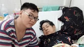 司徒笑病倒,男孫要放下工作在醫院照顧。