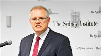 澳洲總理莫里森15日表示澳洲正式承認西耶路撒冷是以色列首都,但暫時不會搬遷大使館。(圖源:EPA)