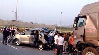 Kháng nghị hủy 2 bản án vụ đâm vào xe đi lùi trên cao tốc Hà Nội - Thái Nguyên