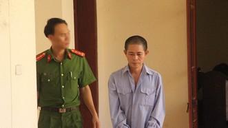 Bị cáo Trần Đức Lân tại tòa