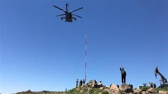 Máy bay trực thăng của liên quân sơ tán các thủ lĩnh IS
