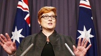 Ngoại trưởng Australia Marise Payne. Ảnh: Financial Review